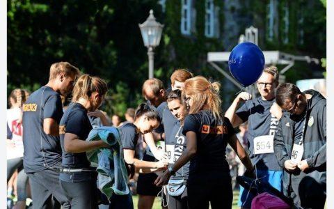 Gries Team im Ziel vom @30.Göttinger Altstadtlauf